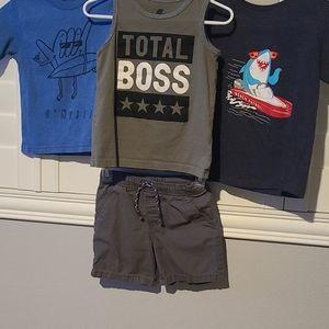 Boys 3T Summer Bundle